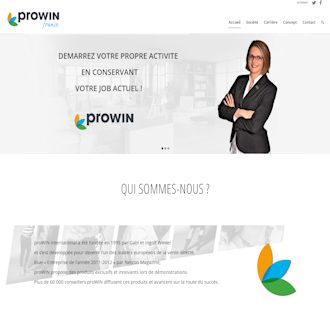 Site Web proWIN France